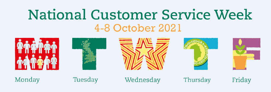 National Customer Service Week 4th to the 9th of October